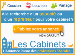 vente cession cabinet m�dical